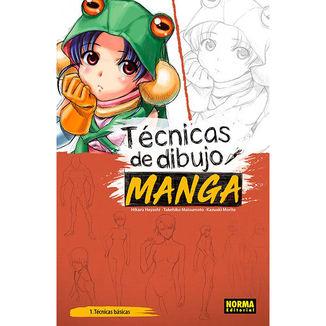 Tecnicas de Dibujo Manga #1 Norma Editorial