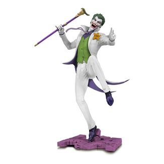 The Joker White Variant Figure DC Comics