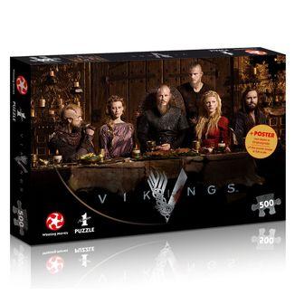 Puzzle Ragnar's Court Vikings