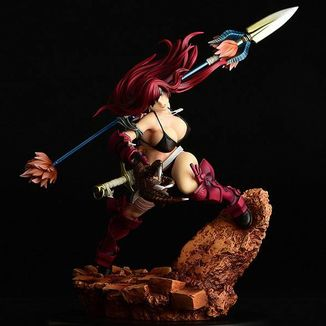 Erza Scarlet the Knight Another Color Crimson Armor Figure Fairy Tail