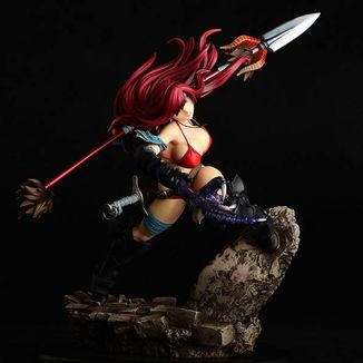 Erza Scarlet the Knight Another Color Black Armor Figure Fairy Tail