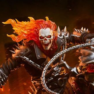 Ghost Rider Statue Marvel Contest of Champions