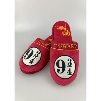 9 & 3/4 Hogwarts Express Slippers Harry Potter