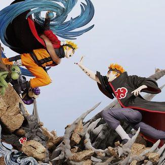 Naruto VS Pain Statue Naruto Shippuden Diorama Elite Fandom