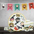 Kit de Cumpleaños Kawaii Harry Potter