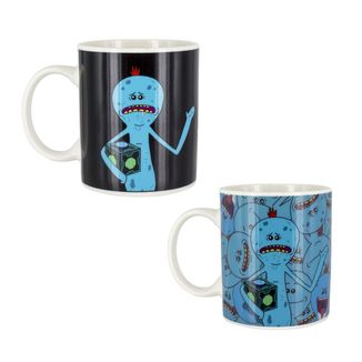 Mr. Meeseeks Heat Change Mug Rick & Morty