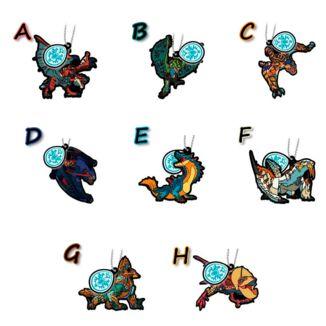 Gashapon Monster Hunter Stories Ride On - Rubber Mascot