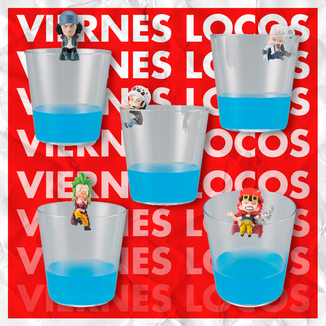 VIERNES LOCOS Gashapon One Piece No Noryoku Mono Vol 4 Set