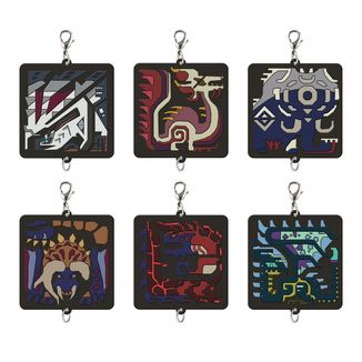 Keychain Monster Hunter - Monster Icon - Ramdon