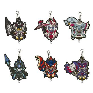 Keychain Monster Hunter - Otomo Feline - Ramdon