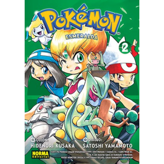 Pokemon Esmeralda #02 (spanish) Manga Oficial Norma Editorial