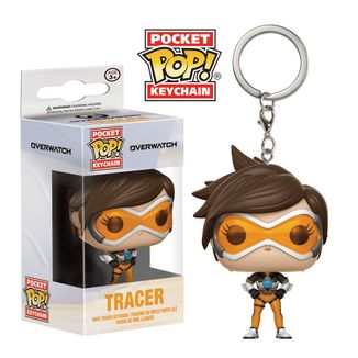 Tracer Keychain Overwatch PoP!