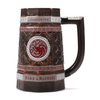 Jarra Casa Targaryen Fire & Blood Juego de Tronos