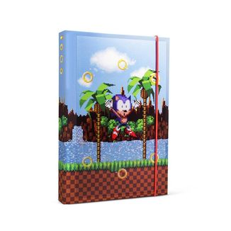 Libreta A5 Rings Sonic The Hedgehog