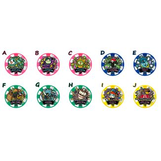 Medallas Yo-kai Watch - Yokai Dream Medal GP03