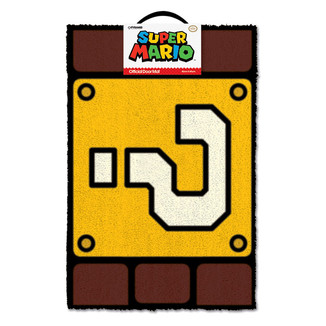Felpudo Super Mario - Question Mark Block