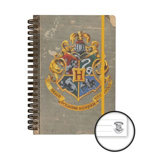 Libreta A5 Harry Potter - Hogwarts