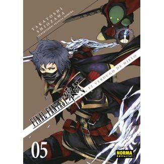 Final Fantasy Type 0 - El Verdugo de Hielo #05 Manga Oficial Norma Editorial