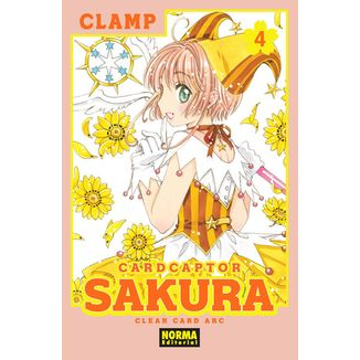 Card Captor Sakura Clear Card Arc #04 Manga Oficial Norma Editorial