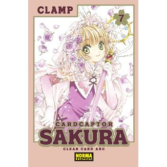 Card Captor Sakura Clear Card Arc #07 Manga Oficial Norma Editorial
