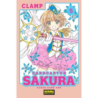 Card Captor Sakura Clear Card Arc #05 Manga Oficial Norma Editorial
