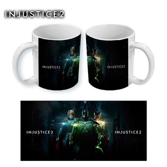 Taza Injustice 2 - Batman Superman y Supergirl