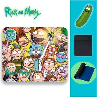 Alfombrilla Rick and Morty - Clones