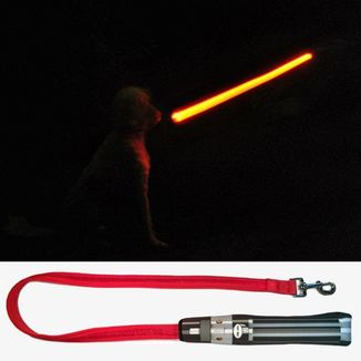 Darth Vader Lightsaber Dog Lead Star Wars