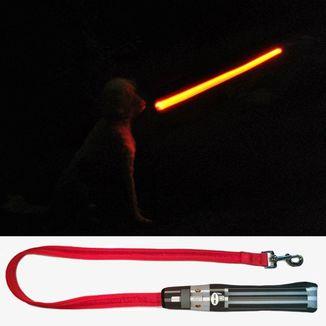 Correa para Perro Darh Vader Sable de Luz Star Wars