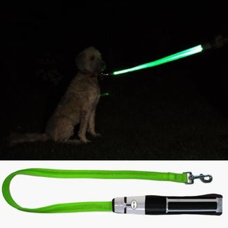 Yoda Lightsaber Dog Lead Star Wars