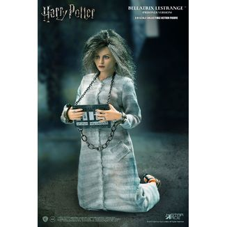 Figura Bellatrix Lestrange Prisoner Version Harry Potter Real Master Series