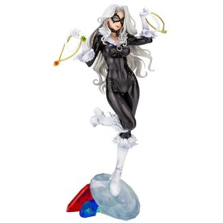 Black Cat Figure Marvel Comics Bishoujo