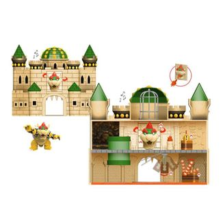 Bowser Castle Deluxe Figure World of Nintendo Super Mario