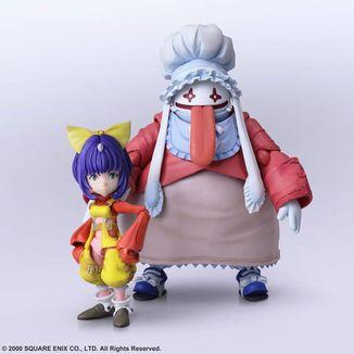 Figura Eiko Carol & Quina Quen Final Fantasy IX Bring Arts