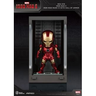 Figura Iron Man Mark III Marvel Comics Mini Egg Attack