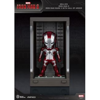 Figura Iron Man Mark V Marvel Comics Mini Egg Attack