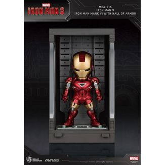 Iron Man Mark VI Figure Marvel Comics Mini Egg Attack