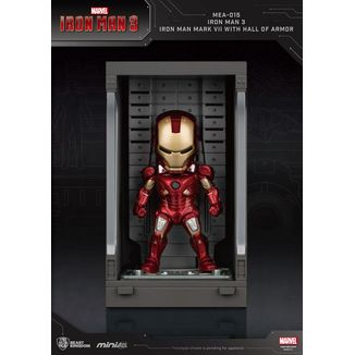 Iron Man Mark VII Figure Marvel Comics Mini Egg Attack