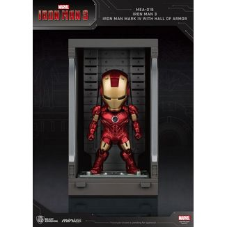 Figura Iron Man Mark IV Marvel Comics Mini Egg Attack