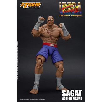 Figura Sagat Ultra Street Fighter II The Final Challengers
