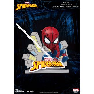 Figura Spider Man Peter Parker Marvel Comics Mini Egg Attack
