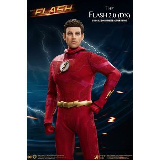 Figura The Flash 2.0 Deluxe Version The Flash Real Master Series