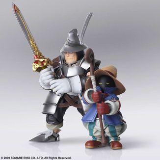 Vivi Ornitier & Adelbert Steiner Figure Final Fantasy IX Bring Arts