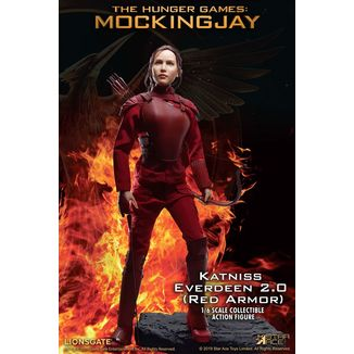 Figura Katniss Everdeen Red Armor Hunger Games My Favourite Movie
