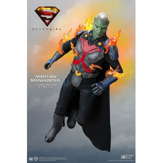 Figura The Martian Manhunter Deluxe Supergirl Real Master Series