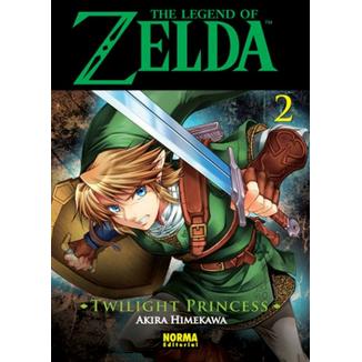 The Legend of Zelda  Twilight Princess #02 Manga Oficial Norma Editorial