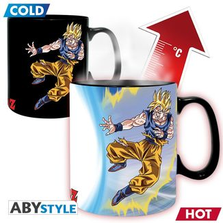 Taza Térmica Goku VS Boo Dragon Ball Z