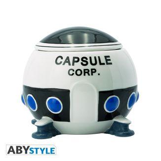 Capsule Corp Spaceship 3D Mug Dragon Ball Z