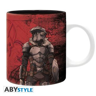 Taza Goblin Slayer Roja 320 ml