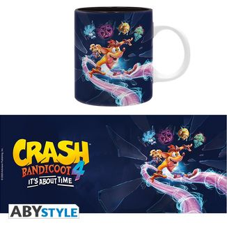 It's About Time Mug Crash Bandicoot 4
